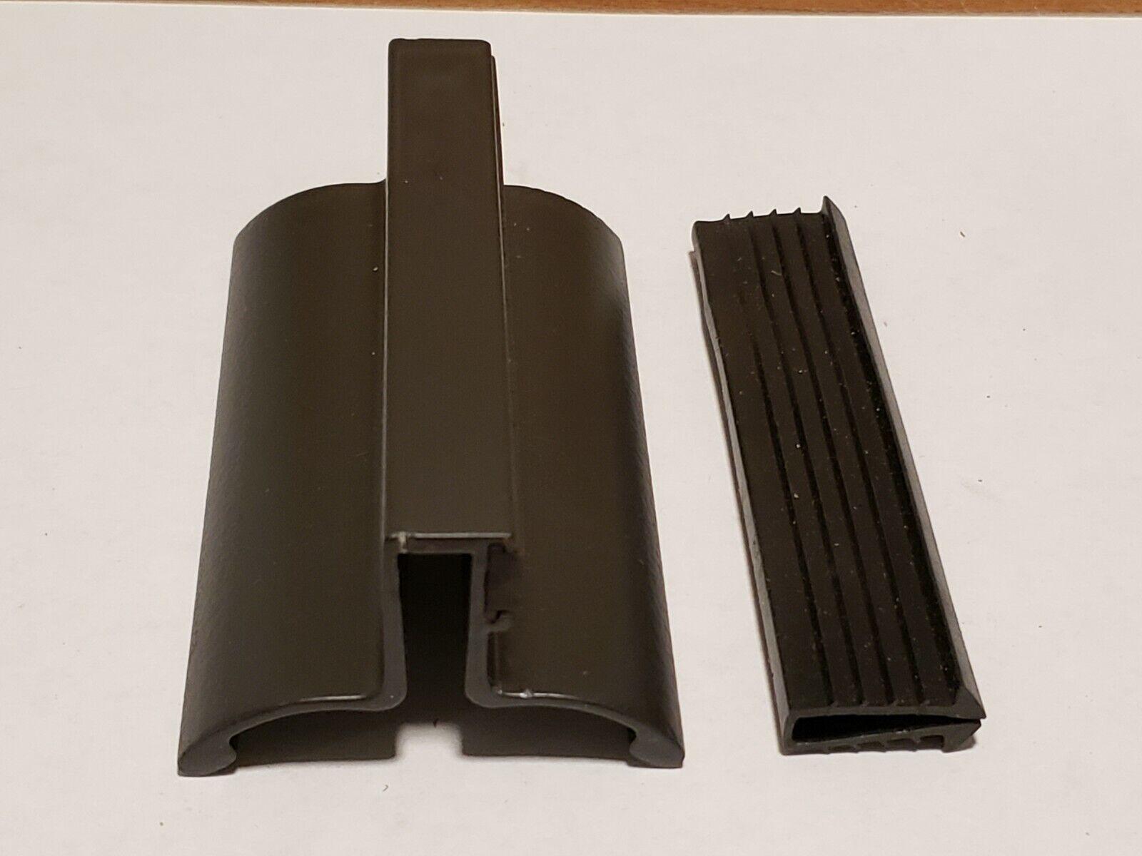 NEW Rubbed Bronze  Frameless Shower Door Handle with Magnet