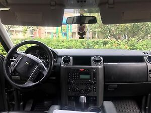 2007 Land Rover black SUV, Crossover