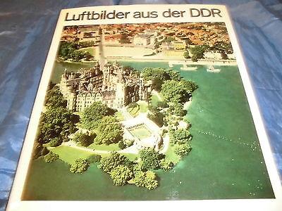 Luftbilder aus der DDR , seltener Bildband , 1. Auflage 1968 , Brockhaus Leipzig