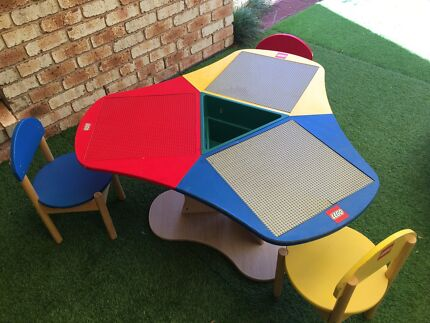 Kids Table & 2 Chairs from Officeworks | Toys - Indoor | Gumtree ...