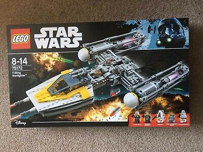 LEGO Star Wars Y-Wing Starfighter (75172) Factory sealed but minor box damage