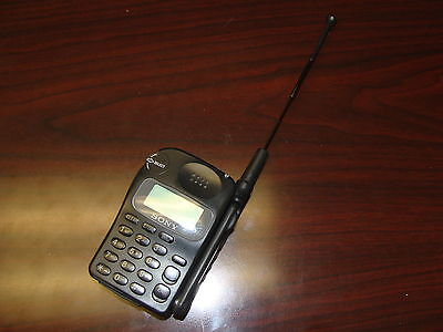 Sony Cell Phone Cm Rx100 1996 1997 Approximate In Service Date