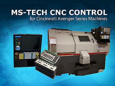 Cnc Retrofit Packagenew Servo Motors Drives For Cincinnati Avenger Lathes