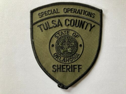 Tulsa OKLAHOMA Special Operations Police Patch