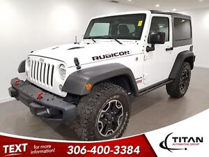 2016 Jeep Wrangler Rubicon|Hard Rock Edition|4x4|Leather|NAV|Htd