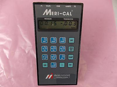 Meriam Meri-cal Precision Pressure Calibrator Model Dp200i