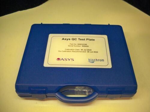 ASYS biochrom QC Test Plate Calibration SG010160