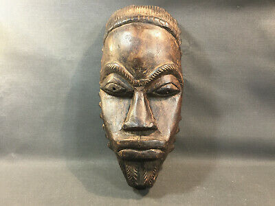 Antique Mask African Wooden Art Ethnic Africa Dogon African Art