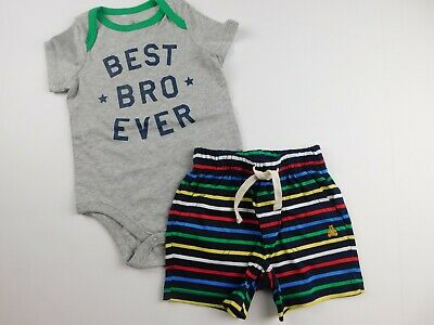 NWT Gap Baby Boy's 2Pc Outfit Bodysuit