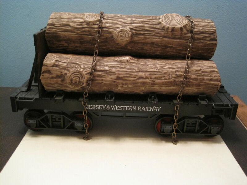 Jim Beam Train Log Car / Box / Papers