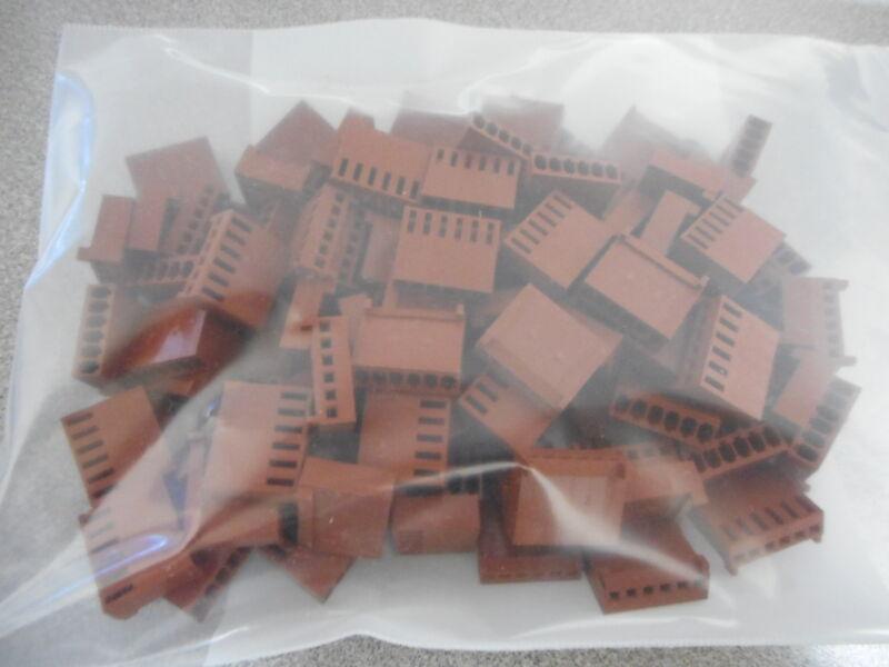 Molex Mxn-22-2695 Connector Housing 22-01-3067,6 Pos Plastic (lot Of 100)