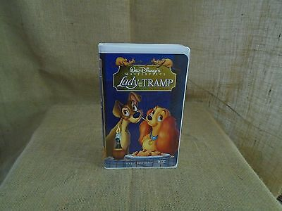 Lady and the Tramp (VHS, 1998) Disney Masterpiece Collection