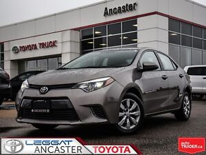 2016 Toyota Corolla LE ONLY 16131 KMS !!