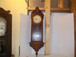 Antique Seth Thomas No 31Wall Regulator Walnut Wall Clock Original