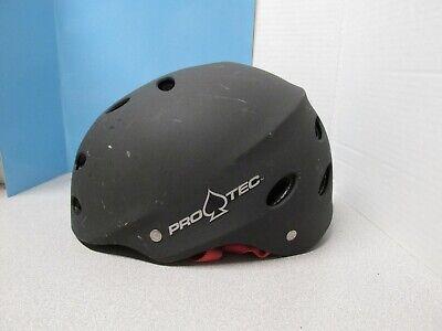 Pro-Tec Matte Black Bicycle Skateboard Helmet Youth SM Ace Freestyle SXP 51-54cm