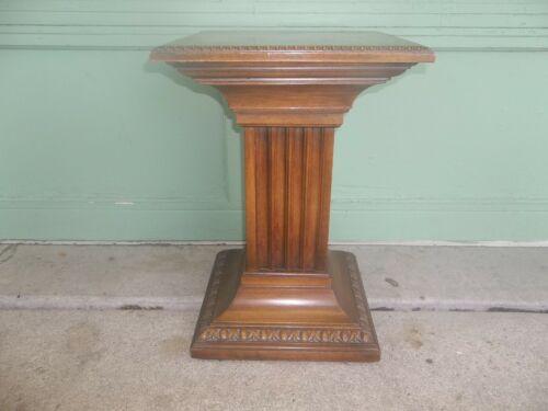 REDUCED!! Vintage Brandt Furniture Square Pedestal Column Plant Fern Stand