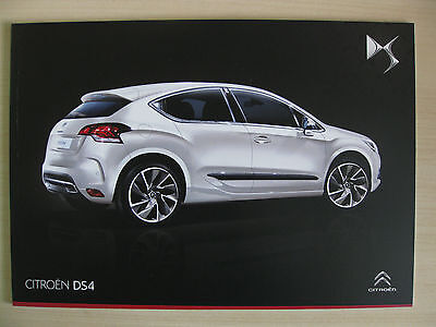 Citroen DS4 UK Sales Brochure  (February 2014)