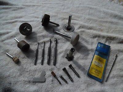 Vtg Starrett No. 829 Small Hole Gauge Set 167 532 Gauge End Mill Arbor Collets