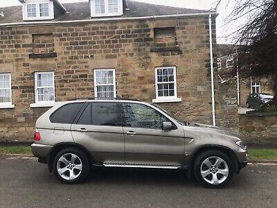 2004 BMW X5 SPORT DIESEL AUTO TANZANITE GOLD*STUNNING DIESEL 4X4*