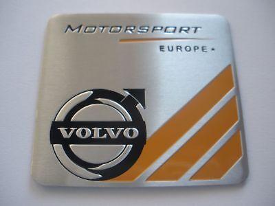 Volvo - Motorsport 3D Metall Alu Sticker Aufkleber Schriftzug Emblem Logo badge gebraucht kaufen  Nürnberg