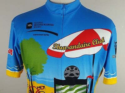e977e8e86 Vomax Men s Cycling Jersey 3 4 Zip Size 5 (XL) MS Bike Ride - 3 Pocket 100%  Poly