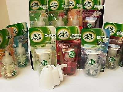 Air wick plug in diffuser with multiple  choice of refills Ebay's best choice