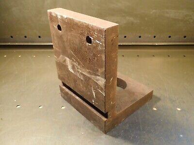 Challenge L-101 6 X 8 X 6 Right Angle Cast Iron Machine Mill Fixture Plate