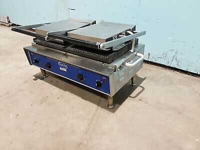 Oliver 502n Heavy Duty Commercial 208v 1 Ph Dual Sided Paninisandwich Grill