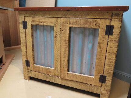 Rustic utility cabinet, TV unit etc.