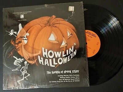 HOWLIN HALLOWEEN The Sounds of Spook Stuff MPTV 12-119 Horror 1960
