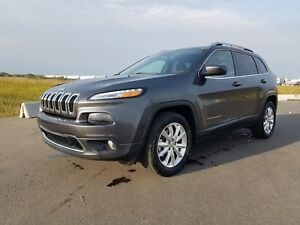 2016 Jeep Cherokee LIMITED|V6|SUNROOF|SIRIUS|BLUETOOTH|PWR SEATS
