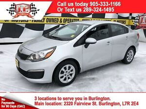 2017 Kia Rio LX+, Automatic, Heated Seats, Bluetooth