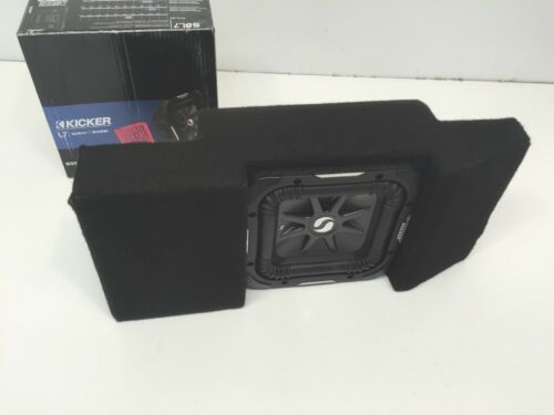2014 to 2018 GMC Sierra Crewcab Subwoofer Enclosure Center console Hidden Double