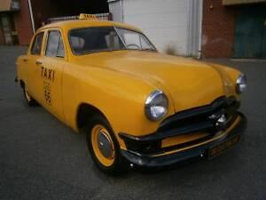 1950 Ford Customline Single Spinner.