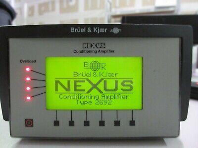 Bruel Kjaer 4 Channel Microphone Conditioning Amplifier - 2692 - Guc