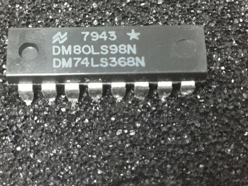 (1 PC) NATIONAL DM74LS368N Hex 3STATE Buffer/Bus Driver 16 Pin Plastic DM80LS98N