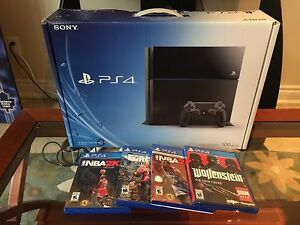 PS4 BUNDLE FOR SALE WITH GAMES $340!