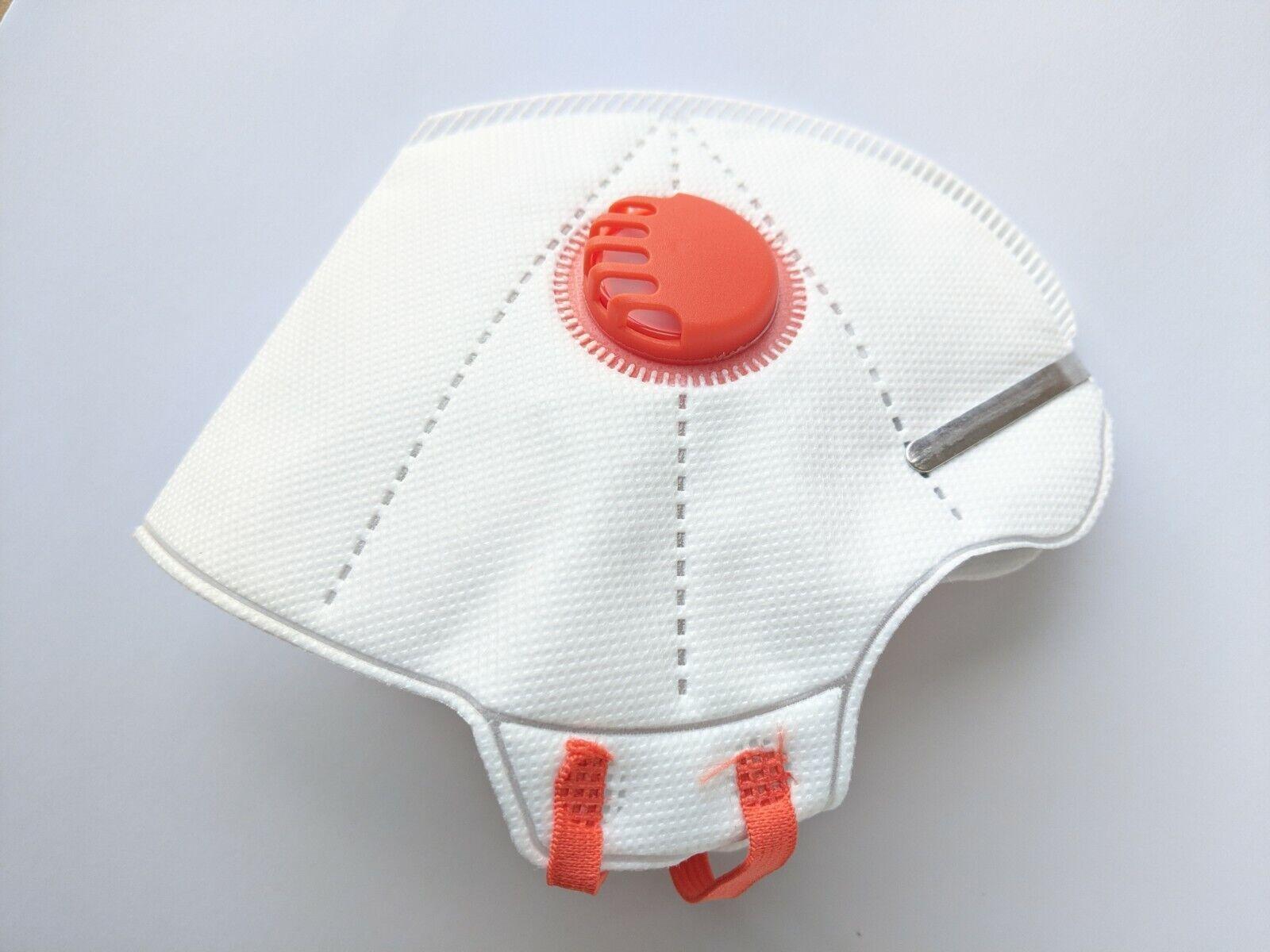 FFP2 wiederverwendbare Ergonomisch geformte Atem Maske Schutzmaske Mundschutz