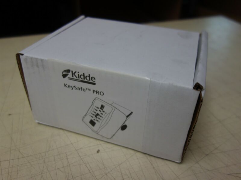 KIDDE S7 Pushbutton CombInation KeyBox 1266 KeySafe Pro