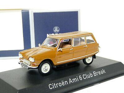 Citroen Ami 6 Club Break 1968 dunkel gold 1:43 Norev neu /& OVP 153520