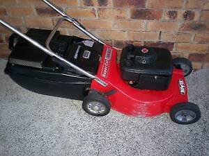 BRIGGS STRATTON 4 STROKE,ROVER 20 inch.SERVICED,LAWN MOWER.CATCHR Runcorn Brisbane South West Preview