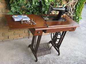 SINGER 201K TREADLE SEWING MACHINE Springvale Greater Dandenong Preview