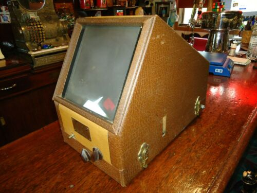 Vintage Taylor Stereo Slide viewer, table top 120 volt 1950s
