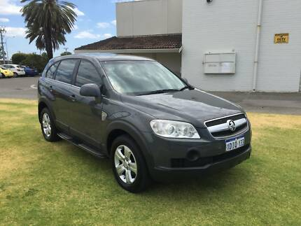 2010 Holden Captiva Cx 2.0 Turbo diesel 7 Seats St James Victoria Park Area Preview