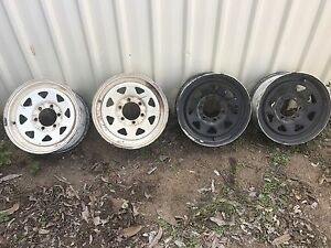 Hilux rims Lissner Charters Towers Area Preview