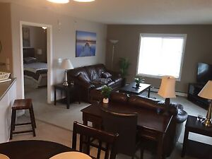 2 Bd Top Floor riverview fully furnished Fort Sask Utiities inc