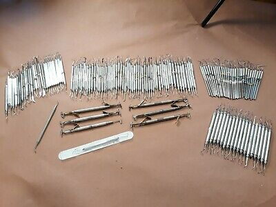 Huge Lot Of 145 Of Dental Instruments Pieces - Hu Friedy