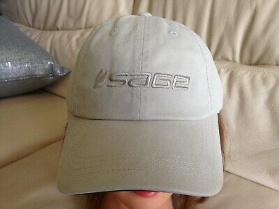 Sage Fly Fishing Soft Crown Baseball Cap Khaki