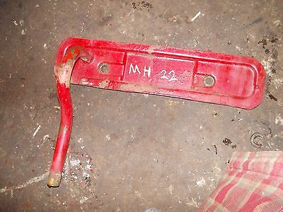 Massey Harris 22 Tractor Original Mh Engine Motor Side Cover Panel