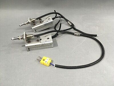 Lot Of 2 Smc Mxs6-30as Table Cylinder